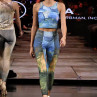 New York Fashion Week 2019 :: Wearable Art Athleisure Leggings SS19 Collection-3