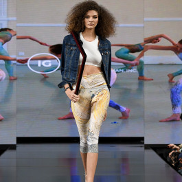 New York Fashion Week 2019 :: Wearable Art Athleisure Leggings SS19 Collection-1