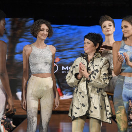New York Fashion Week 2019 :: Wearable Art Athleisure Leggings SS19 Collection-2
