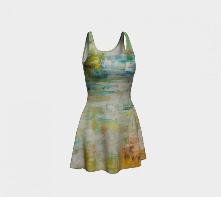 Flare Dress A.Space-5