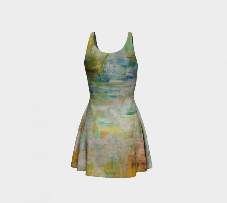 Flare Dress A.Space-7