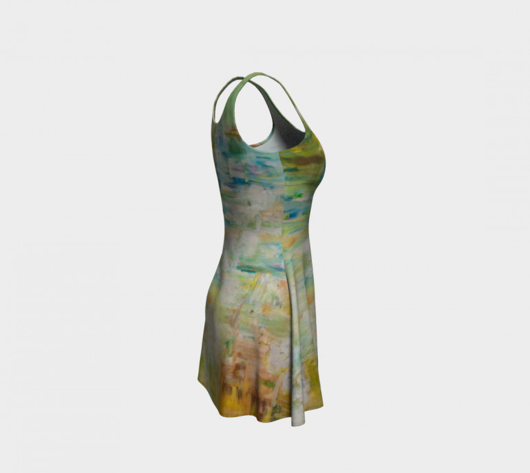 Flare Dress A.Space-8