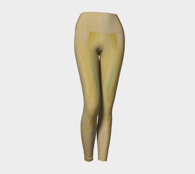 Yoga Leggings Creme-3