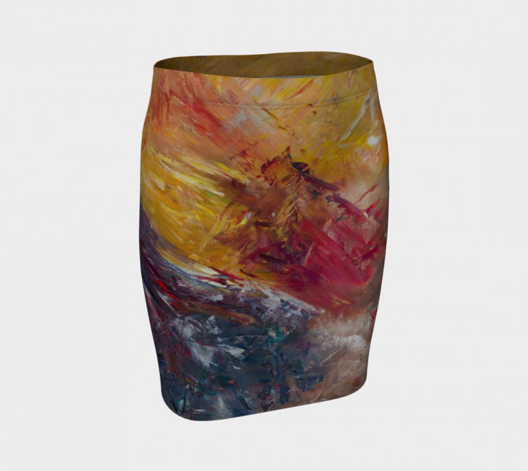 Fitted Skirt Sedona-7