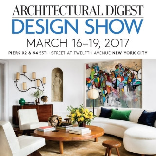 2017 Architectural Digest Design Show in NYC @Pier 94
