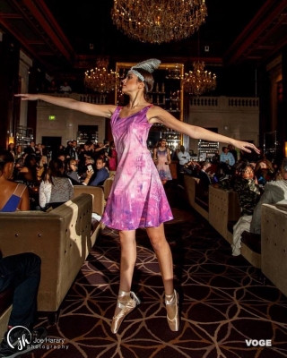 Boston Fashion Week and VOGE Runway with Ballerina collection for Spring-Summer 2017