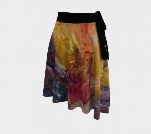Wrap Skirt Sedona Mountain