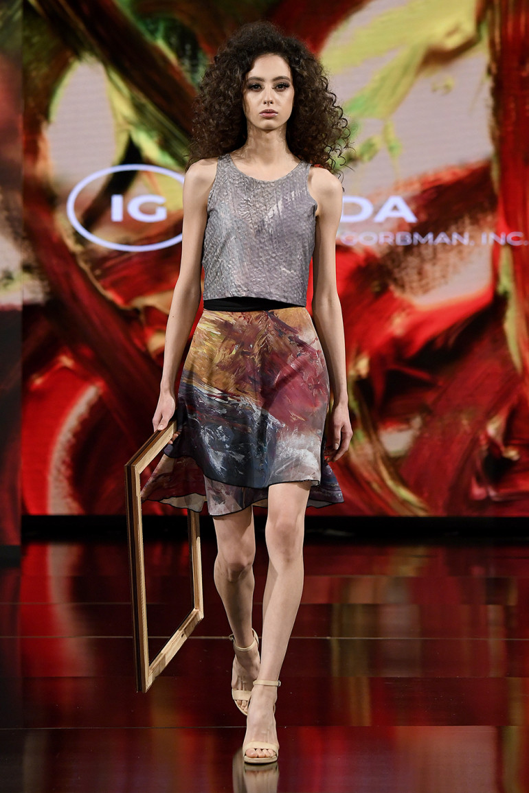 Wrap Skirt Sedona Mountain-1
