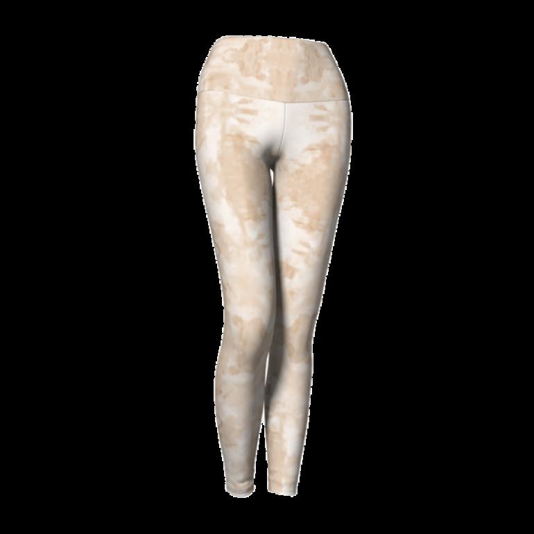 Yoga Leggings Mandala Monochrome-3